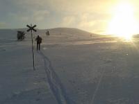Skitour zum Hausberg
